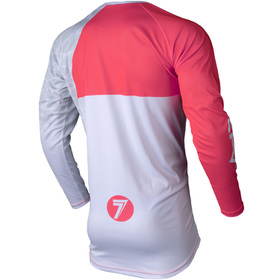 Maillot cross Seven Vox Paragon Corail 20.2 Dos