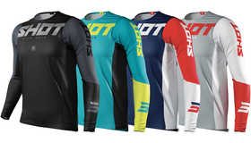Maillot cross Shot Aerolite Airflow 2021