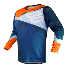 Maillot cross Shot Contact Shadow Bleu 2020