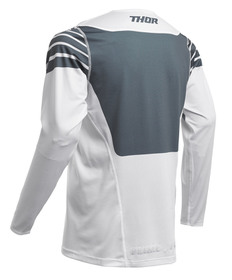 Maillot cross Thor Prime Pro Strut Blanc 2020 Dos