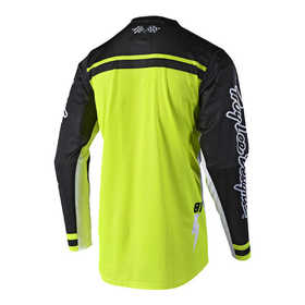 Maillot cross Troy Lee Designs GP Air Bolt Jaune Fluo 2019 Dos