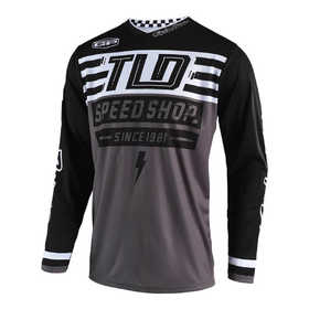 Maillot cross Troy Lee Designs GP Air Bolt Noir 2019