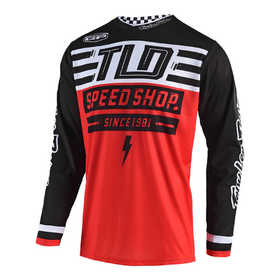 Maillot cross Troy Lee Designs GP Air Bolt Rouge 2019