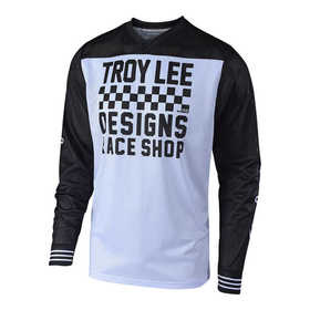 Maillot cross Troy Lee Designs GP Air Raceshop Blanc 2018