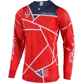 Maillot cross Troy Lee Designs SE Air Metric Rouge