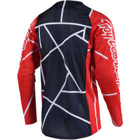 Maillot cross Troy Lee Designs SE Air Metric Rouge Dos