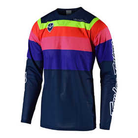 Maillot cross Troy Lee Designs SE Air Spectrum Navy 2019