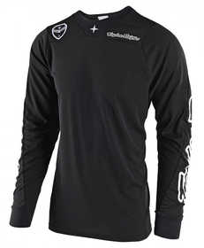 Maillot moto cross - Troy Lee Designs - SE Air Solo Noir - Devant