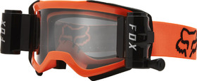 Masque cross Fox Air Space Stray Roll Off Orange Fluo 2021