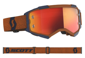 Masque cross Scott Fury Gris-Orange 2020