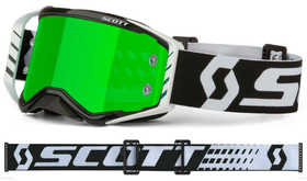 Masque cross Scott Prospect Noir-Blanc 2021