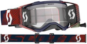 Masque Moto Cross Roll Off - Scott Prospect 2021 - Navy et Orange