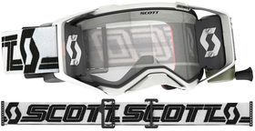 Masque Moto Cross Roll Off - Scott Prospect SUPER WFS 2021 - Noir et Blanc