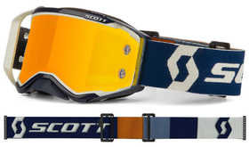 Masque cross Scott Prospect Gris / Bleu 2020