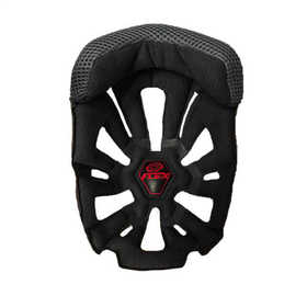 Mousse de casque cross Moto-9 Noir