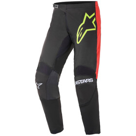 Pantalon cross Alpinestars Fluid Tripple Jaune Fluo 2021