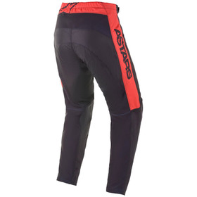Pantalon cross Alpinestars Fluid Tripple Jaune Fluo 2021 Dos