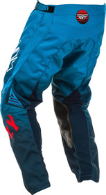 Pantalon cross Fly Kinetic K220 Bleu 2020 Dos
