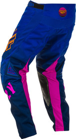 Pantalon cross Fly Kinetic K220 Midnight 2020 Dos