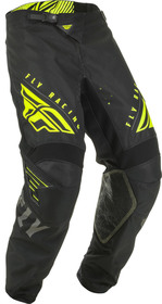 Pantalon cross Fly Kinetic K220 Noir-Jaune 2020