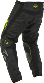 Pantalon cross Fly Kinetic K220 Noir-Jaune 2020 Dos
