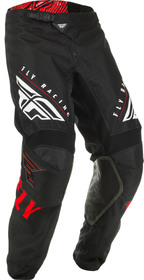 Pantalon cross Fly Kinetic K220 Noir-Rouge 2020