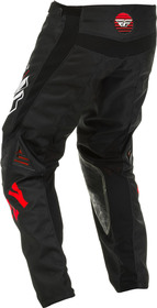 Pantalon cross Fly Kinetic K220 Noir-Rouge 2020 Dos