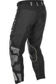 Pantalon cross Fly Kinetic K221 Noir 2021 Dos