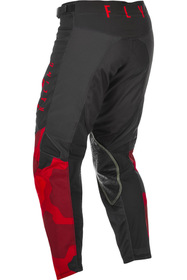 Pantalon cross Fly Kinetic K221 Rouge 2021 Dos