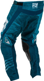 Pantalon cross Fly Kinetic Mesh Noiz Bleu 2020 Dos