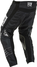 Pantalon cross Fly Kinetic Mesh Noiz Noir 2020 Dos