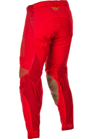 Pantalon cross Fly Lite Hydrogen Rouge 2021 Dos