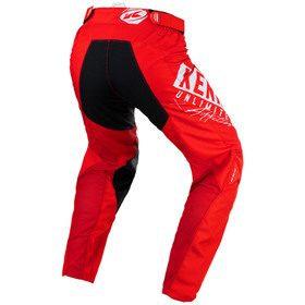 Pantalon cross Kenny Performance Red 2021 Dos