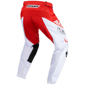 Pantalon cross Kenny Track Focus Red 2021 Dos