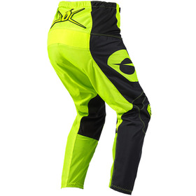 Pantalon cross O'Neal Element Racewear Jaune Fluo 2021 Dos