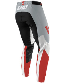 Pantalon cross Shot Aerolite Airflow Red 2021 Dos