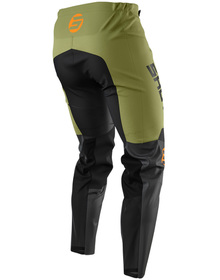 Pantalon cross Shot Devo Storm Kaki 2021 Dos