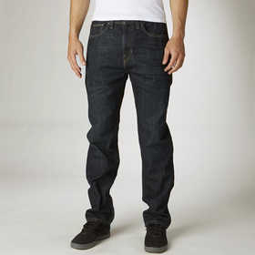 Pantalon Fox Garage Bleu