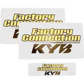 Stickers de fourche Factory Connection KYB