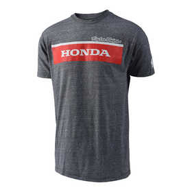 Tee Shirt Troy Lee Designs Honda Team Wing Block Gris 2018